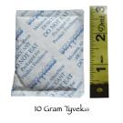 10 Gram Silica Gel Packet Desiccant Dehumidifier - Tyvek